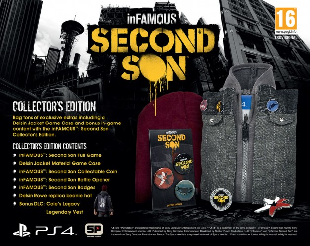 InFamous: Second Son PS4-Special Collectors Edition