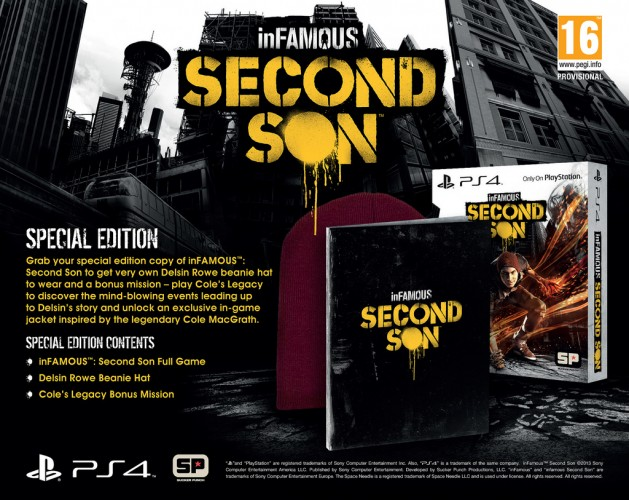 InFamous: Second Son PS4-Special