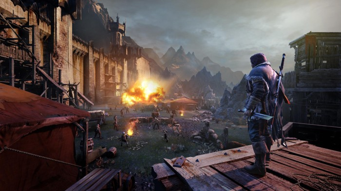 Death often comes from above in Shadow of Mordor