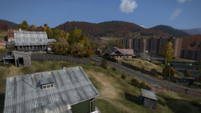 While the game engine used in DayZ isn't spanking new, the landscapes manage to look impressive.