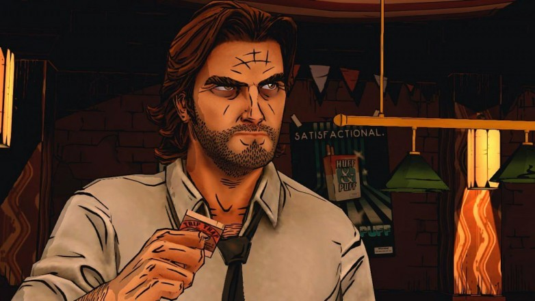 There's something sublime about the artwork of The Wolf Among Us