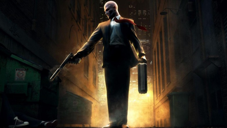 Agent 47, as depicted in the Hitman games.