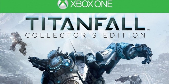 Titanfall Collector's Edition first look