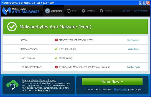 free antivirus and malware software download