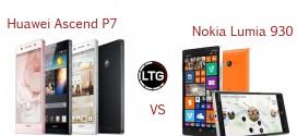 Lumia 930 vs. Huawei Ascend P7 – budget flagships