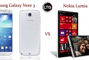 Samsung Galaxy Note 3 vs Nokia Lumia Icon