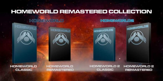 Homeworld Remastered Collector's Edition will be available by the end of the year