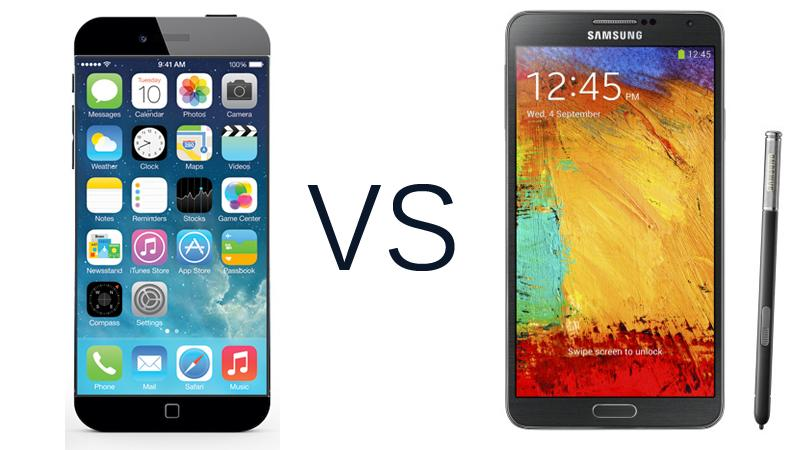 Samsung galaxy note 4 vs iphone 6 the pre release competition begins