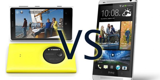 htc one vs nokia lumia 1020 � which one is the better