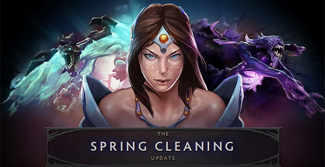 Dota 2 patch 6 81′ Spring Cleaning ' brings tons of changes