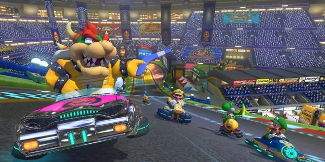 Mario Kart 8 Bowser