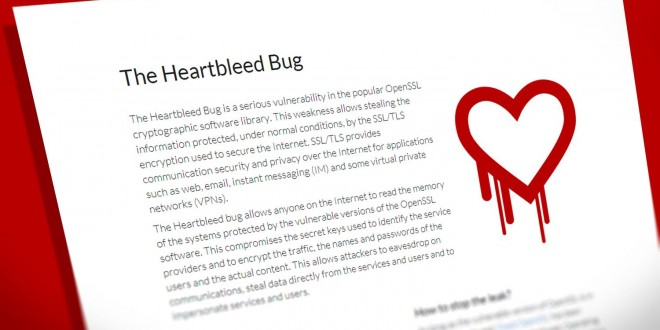 The heartbleed bug still affects all OpenSSL versions, the team informs today
