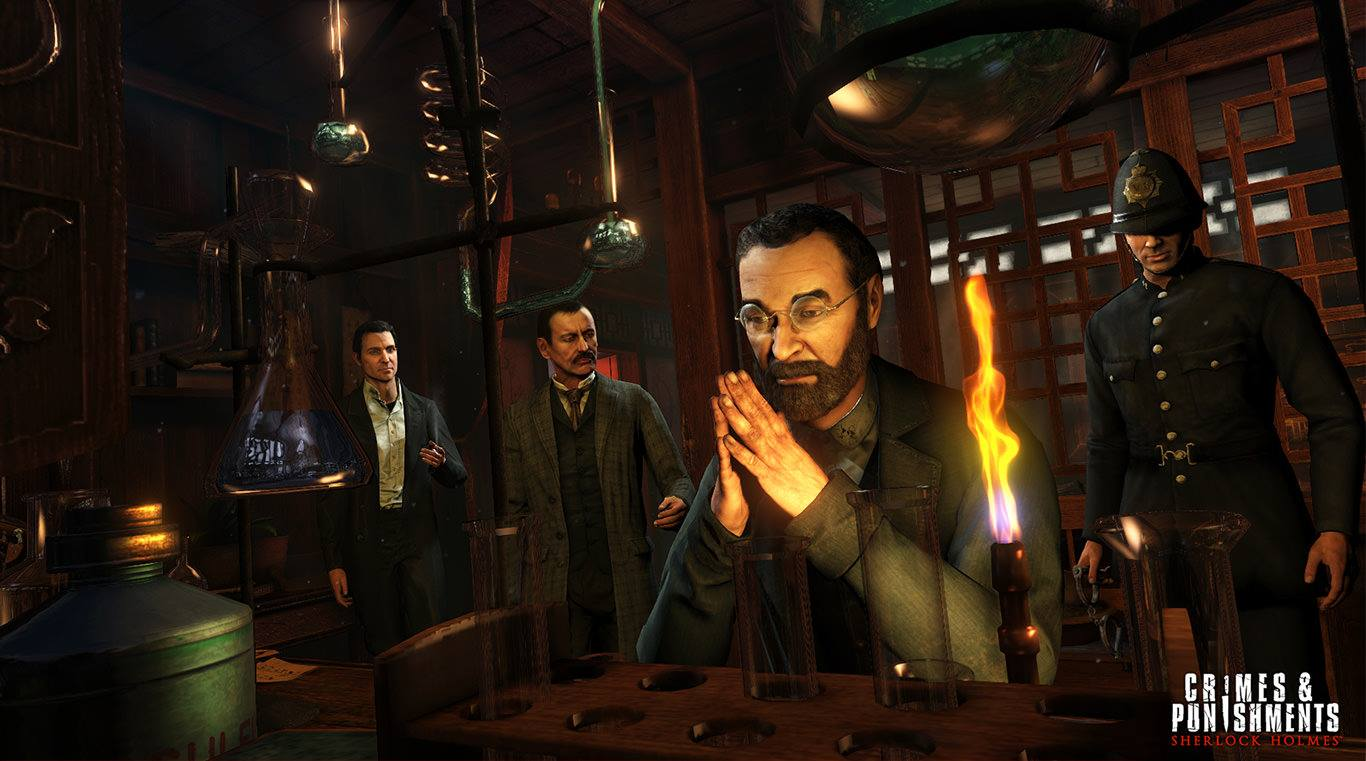 Sherlock Holmes: Crimes & Punishments gameplay trailer released