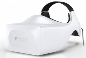 FOVE virtual reality