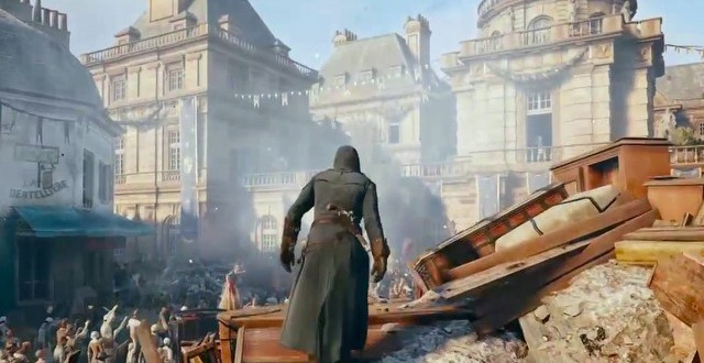 Assassin S Creed Unity Map Is Similar In Size To The Actual Map Of