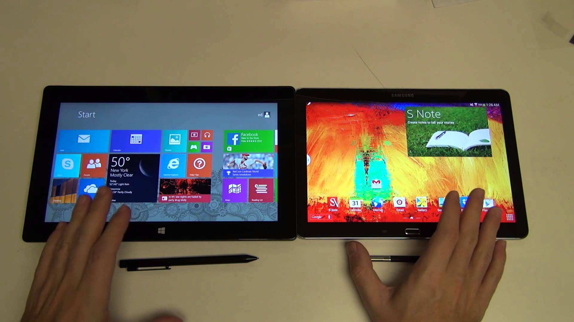 Which Tablet Should I Get The Ipad Air Or The Surface Pro