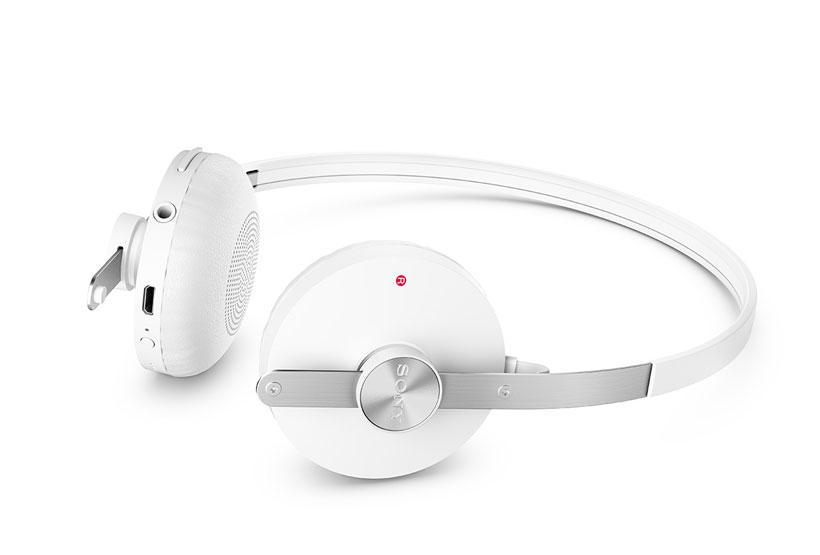 Bluetooth headset white