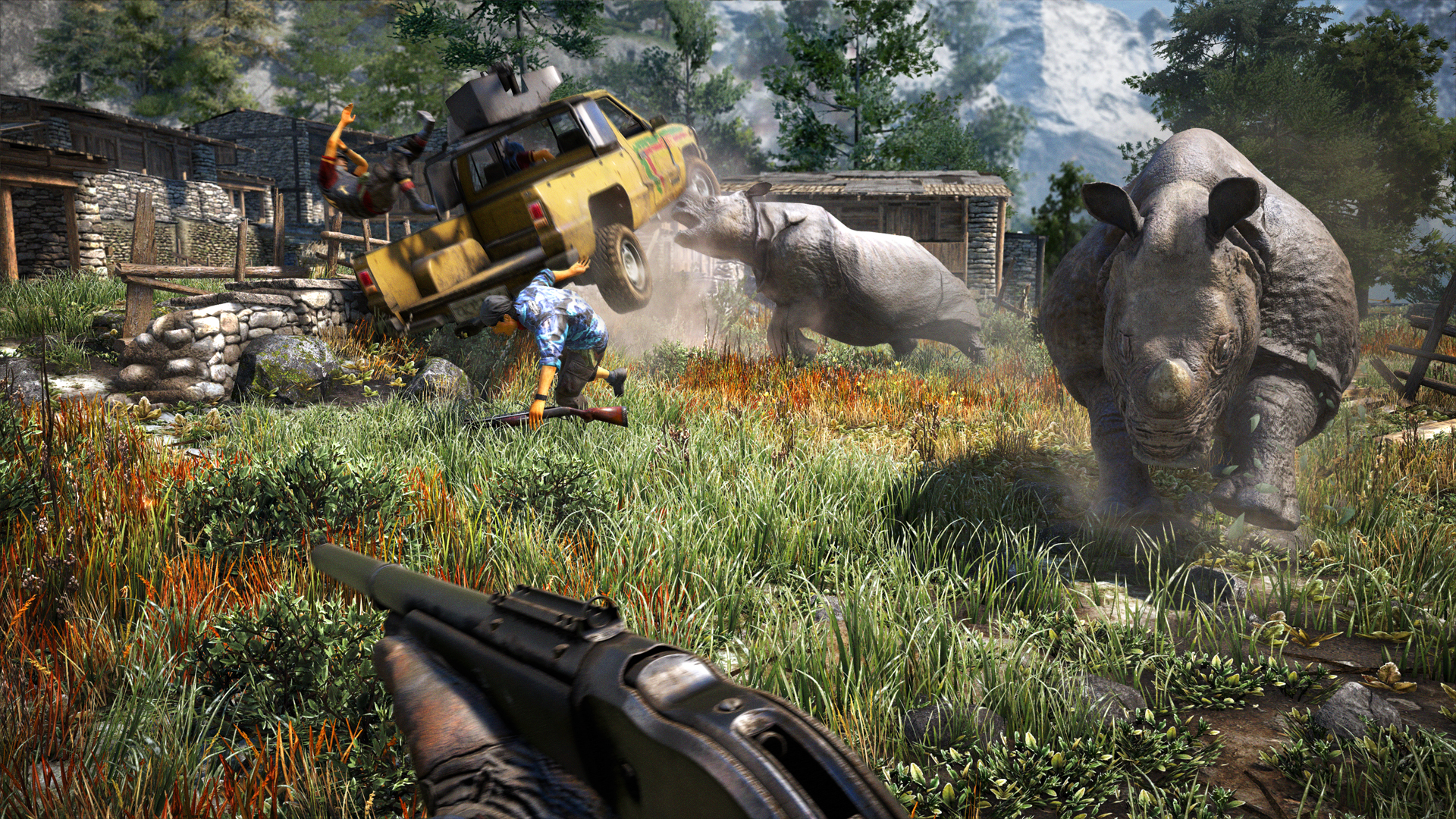 Far Cry Weapons Far Cry 4's 'weapons of Kyrat'