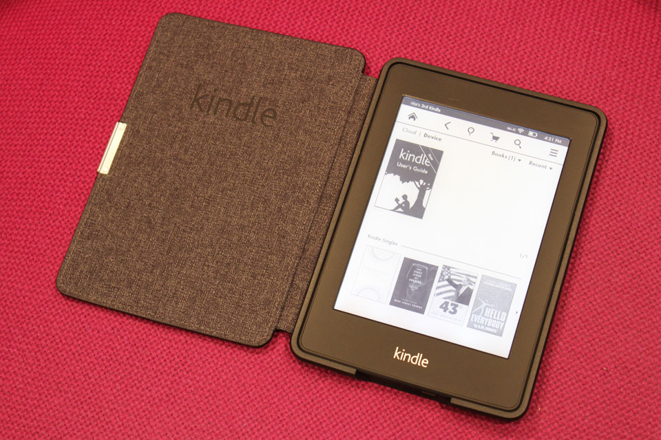 Kindle Voyage – smaller high-res e-book reader listed – Load