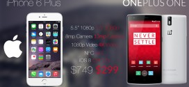 iPhone 6 Plus vs OnePlus One – phablet madness