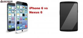 Nexus 6 vs iPhone 6 – flagships head to head