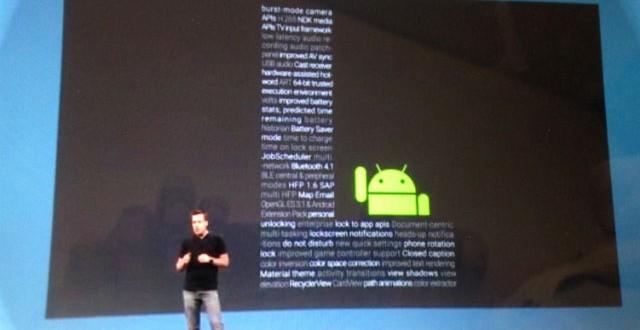 Android Lollipop - Nexus 9