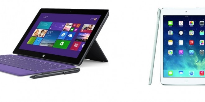 Ipad Mini 2 Retina Vs Microsoft Surface Pro 2 Load The Game