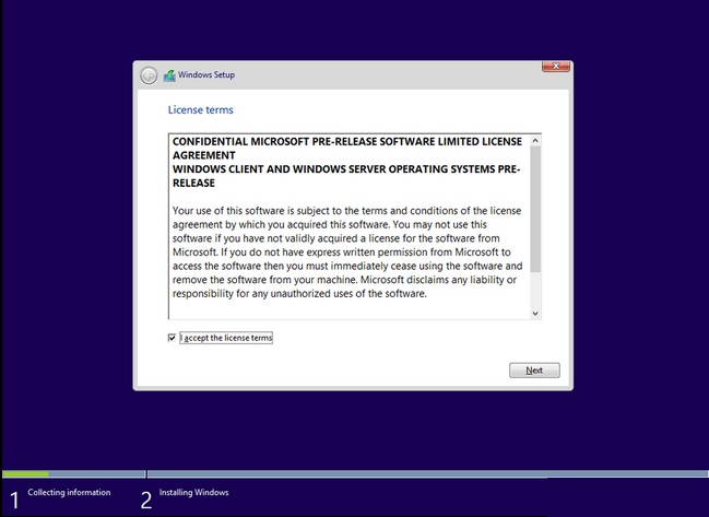 Windows 9 screenshots