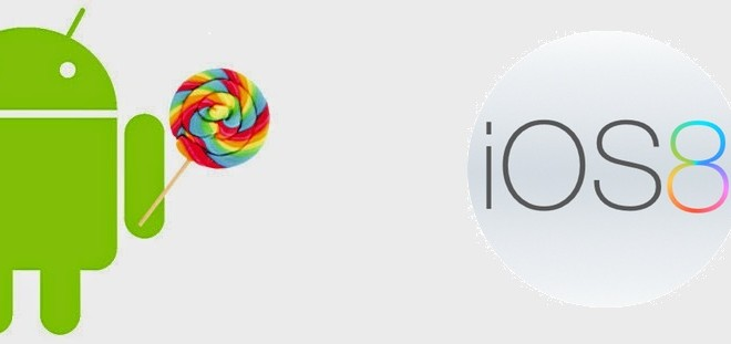 compare and contrast android os and ios