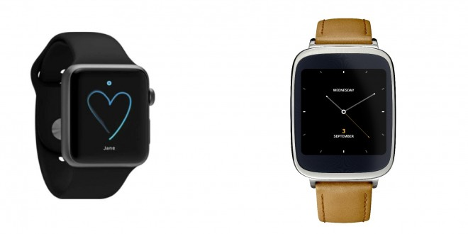 Apple Watch vs Asus ZenWatch: Review 2014