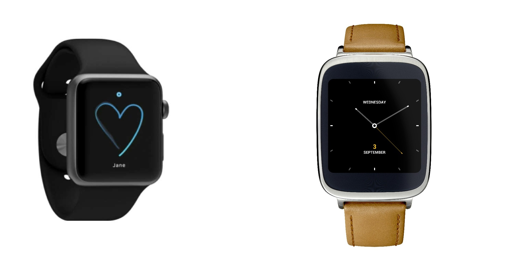 Apple Watch vs Asus ZenWatch • Load the Game