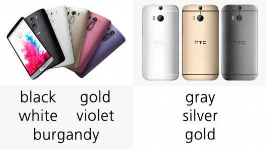 Htc One m8 Colors t Mobile Htc One m8 vs lg g3 – Color