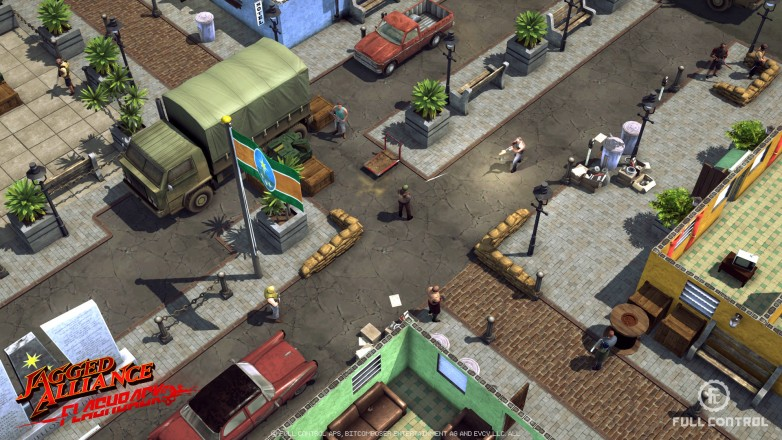 Jagged Alliance Flashback