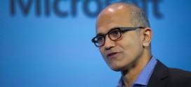 Men and women are paid equally at Microsoft according to CEO Satya Nadella