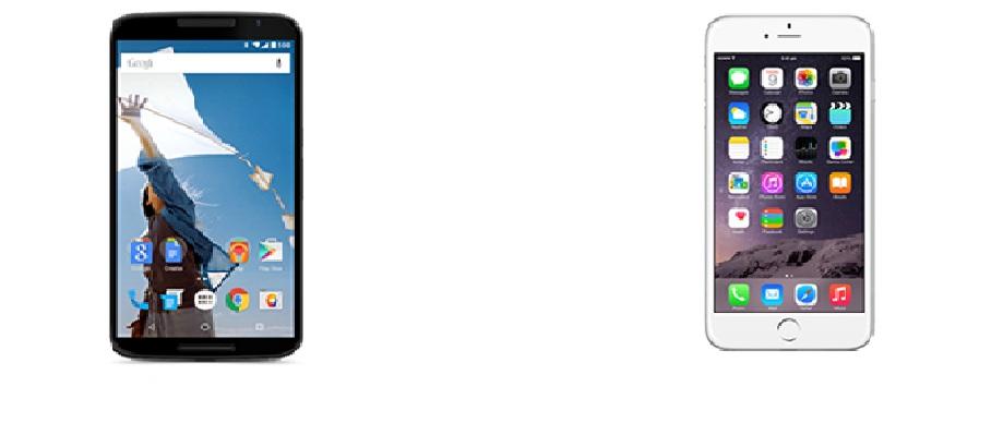 Nexus 6 vs iPhone 6 Plus – specs, design and price ...
