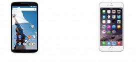 Nexus 6 vs iPhone 6 Plus – specs, design and price compared