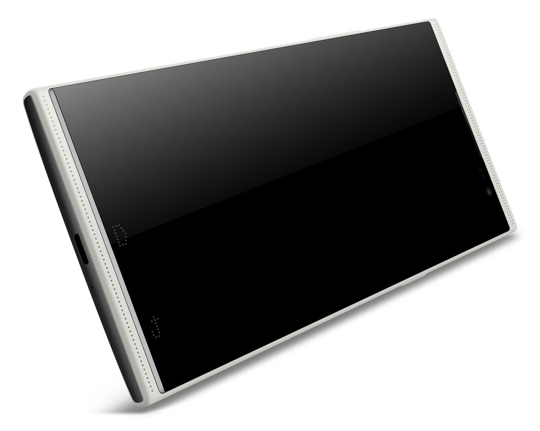 Sharp Aquos Crystal vs Otium U5 - bezelless smartphones