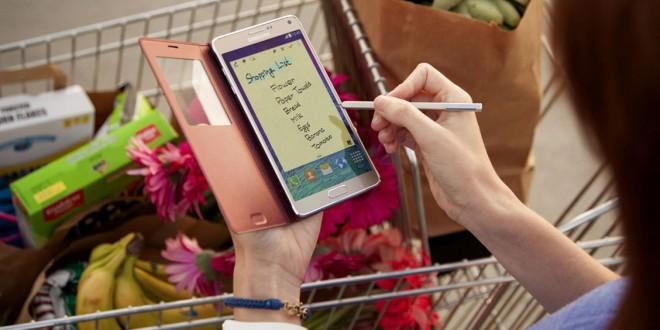 TouchWiz on Samsung Galaxy Note 4