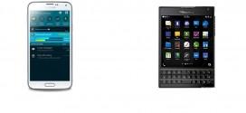 BlackBerry Passport vs Samsung Galaxy S5