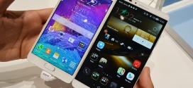 Galaxy Note 4 vs Huawei Ascend Mate 7 – clash of titans