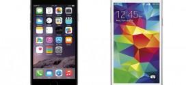 iPhone 6 vs Galaxy S5 – bang for buck