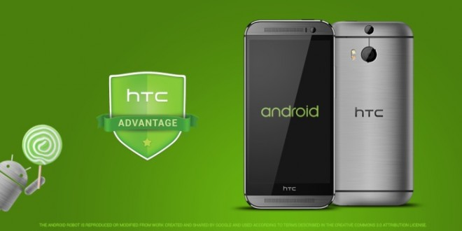 Android Lollipop update coming to HTC flagships in 90 days