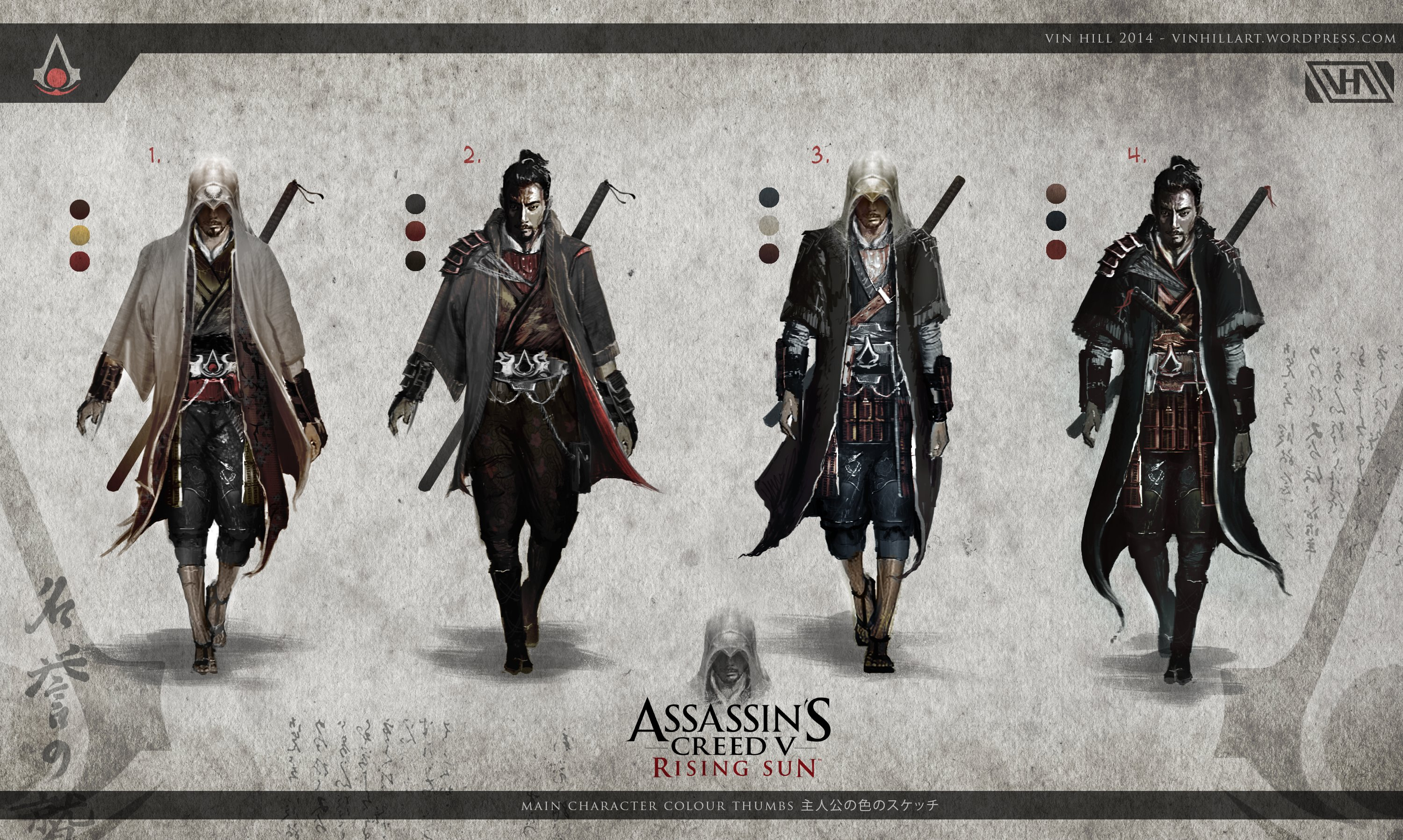 here s how assassin s creed v rising sun could look like load the game. Black Bedroom Furniture Sets. Home Design Ideas