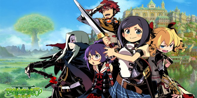 Etrian Odyssey and the Mystery Dungeon Announced for 3DS