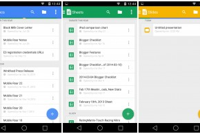 Google Drive update brings Material Design and Open With function