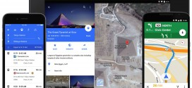 Google Maps update with Material Design rolling out
