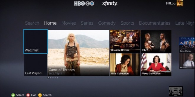 HBO Go Launches on Xbox One Today