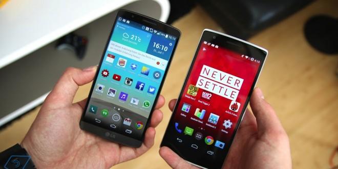 LG G3 vs OnePlus One - flagship vs underdog