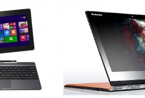 Lenovo Yoga 3 Pro vs Asus Transformer Book T100