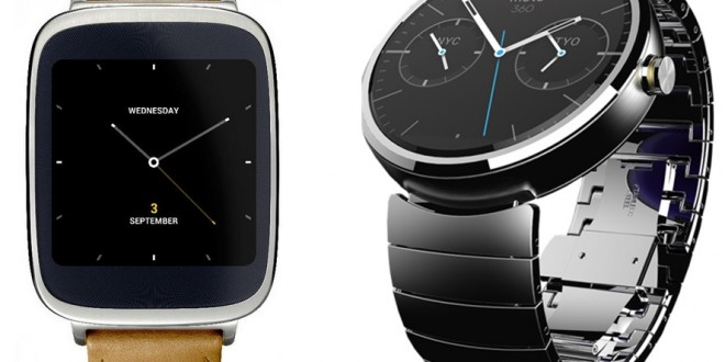 Moto 360 vs Asus ZenWatch – round or classy – Load the Game